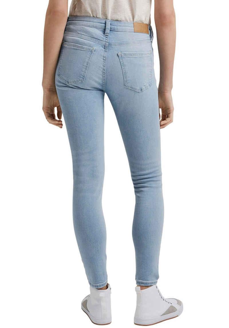 edc by Esprit Skinny-fit-Jeans mit Destroyed-Effekten