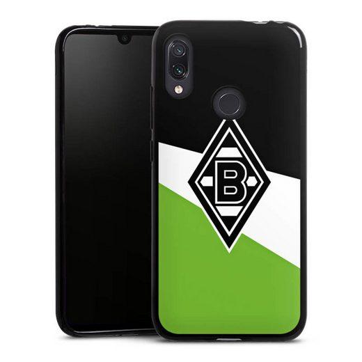 DeinDesign Handyhülle »Borussia Schwarz-Weiss-Grün« Xiaomi Redmi Note 7, Hülle Borussia Mönchengladbach Gladbach Offizielles Lizenzprodukt