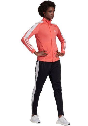 adidas Performance Trainingsanzug »OSR W PES 3 STRIPES TRACKSUIT« (Set)