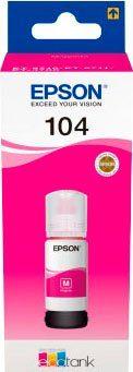 Epson »104 EcoTank Magenta« Nachfülltinte (1-tlg)