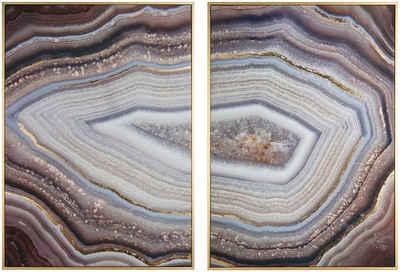 Art for the home Leinwandbild »Zauberhafte Edelsteine«, Natur, 50x70cm