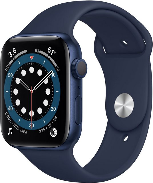 Smartwatches - Apple Series 6 GPS, Aluminiumgehäuse mit Sport 40mm Watch (Watch OS 6, inkl. Ladestation (magnetisches Ladekabel)  - Onlineshop OTTO