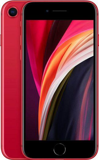 Apple iPhone SE (2020) Smartphone (11,94 cm/4,7 Zoll, 128 GB Speicherplatz, 12 MP Kamera, ohne Strom-Adapter und Kopfhörer)
