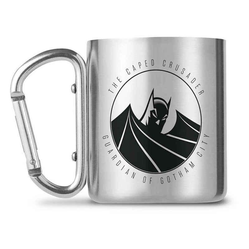 GB eye Tasse »DC Comics - Batman - Caped Crusader - Edelstahl Tasse mit Karabiner-Griff«