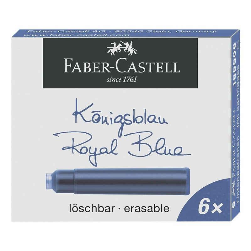 Faber-Castell »Standard« Tintenpatrone (6-tlg., passend für viele Füllhalter)