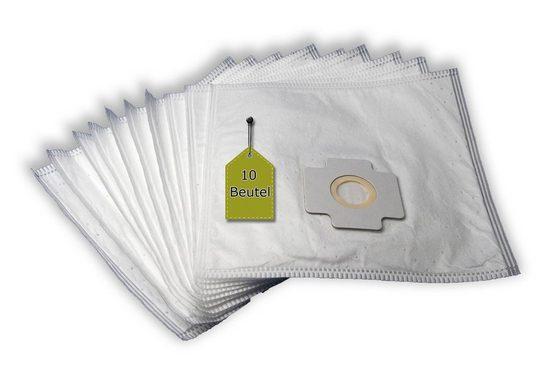 eVendix Staubsaugerbeutel Staubsaugerbeutel ähnlich Menalux 5802, 10 Staubbeutel + 2 Mikro-Filter + 2 Motor-Filter, passend für Menalux