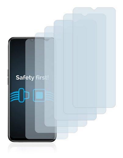 Savvies Schutzfolie »für Oppo A8«, (6 Stück), Folie Schutzfolie klar