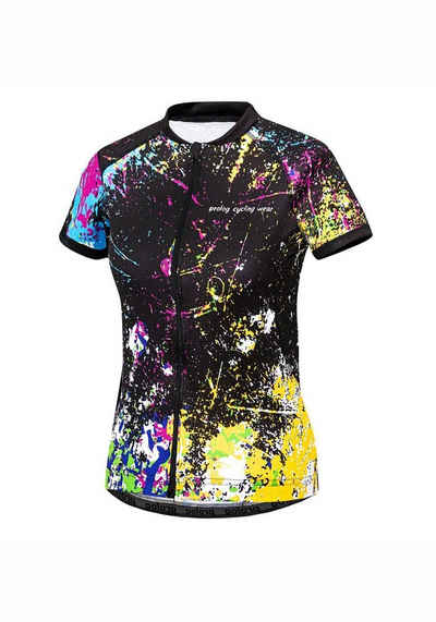 prolog cycling wear Radtrikot »Grunge« mit farbenfrohem Druck