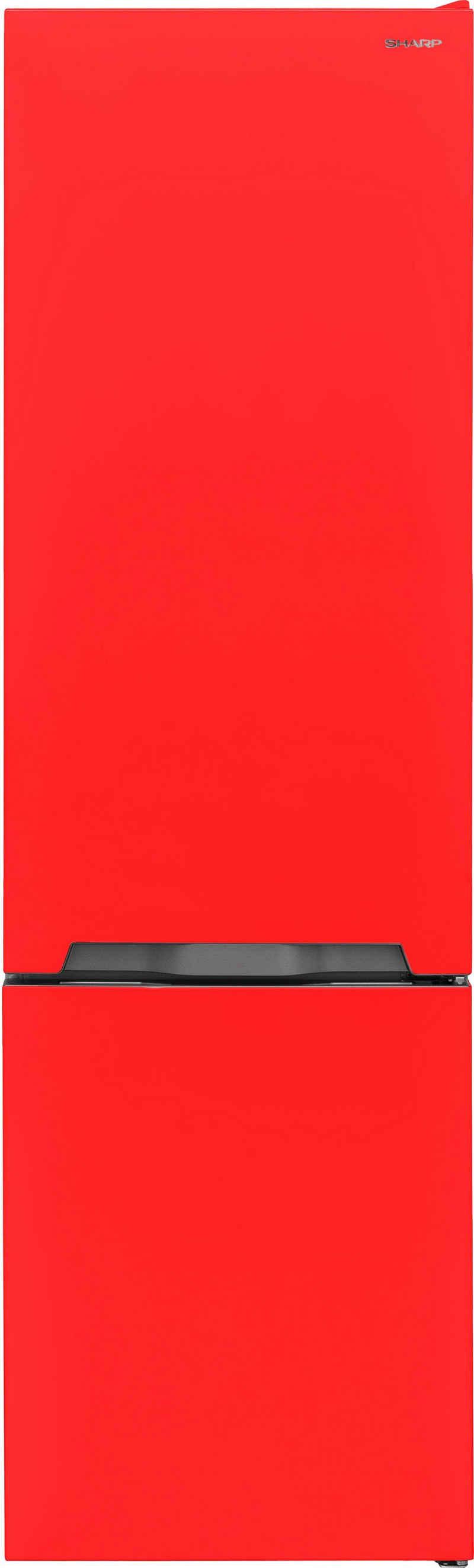 Sharp Kühl-/Gefrierkombination SJ-BA05IMXRE-EU, 180 cm hoch, 54 cm breit