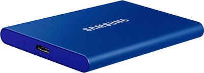 Samsung »Portable SSD T7« externe SSD (500 GB) 1050 MB/S Lesegeschwindigkeit)