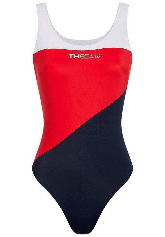 Bademode - Tommy Hilfiger Badeanzug, im sportlichen Design ›  - Onlineshop OTTO