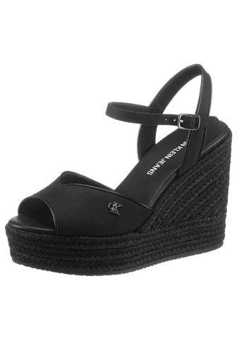 Calvin Klein High-Heel-Sandalette su reguliuojamas ...