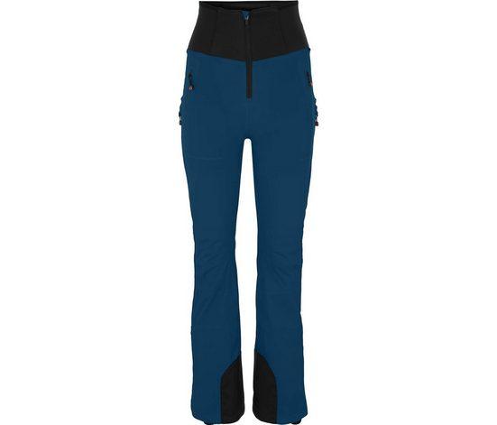 Bergson Skihose »MIEN Slim« Damen Skihose, wattiert, 20000 mm Wassersäule, Kurzgrößen, dunkel blau