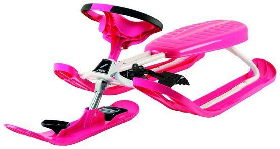 STIGA Schlitten »Racer Color Pink«, BxL: 55x130 cm