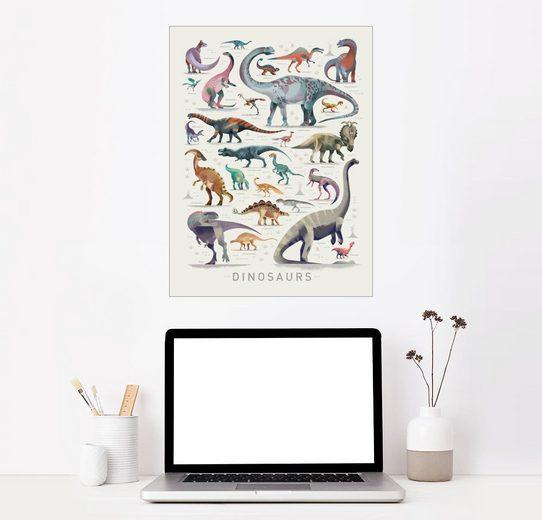 Dinosaurier Englisch