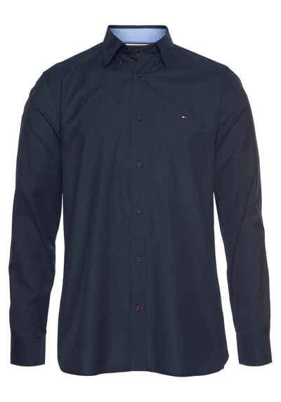 Tommy Hilfiger Langarmhemd »NATURAL SOFT POPLIN SHIRT«