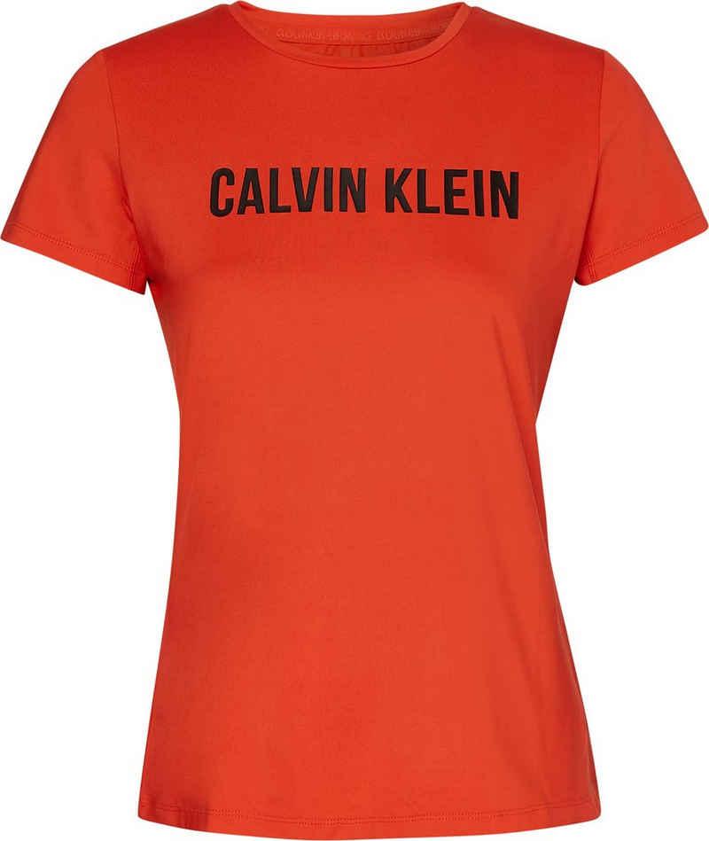 Calvin Klein Performance Rundhalsshirt »S/S T-SHIRTS« mit Calvin Klein Logo-Schriftzug auf der Brust
