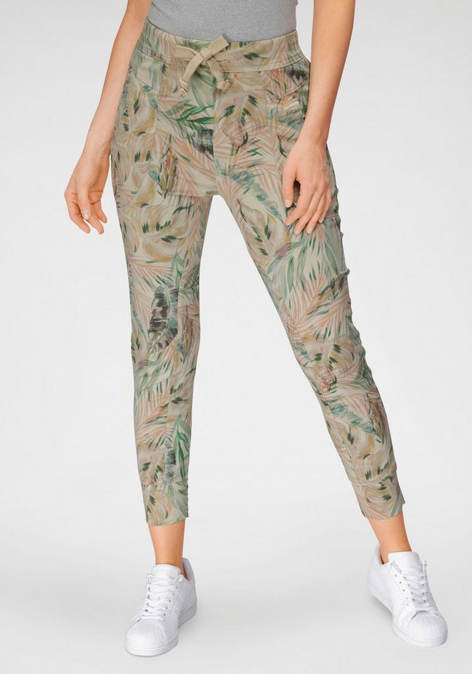 please jeans -  Jogg Pants »P 51G« mit Dschungel Allover-Print