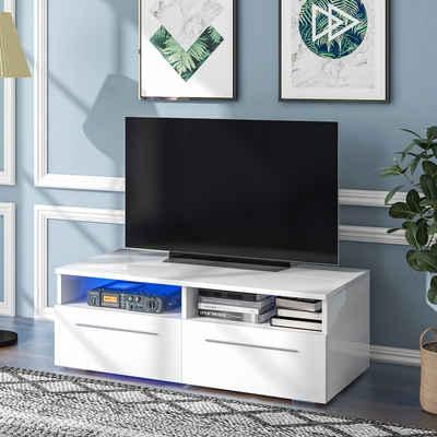 Masbekte Lowboard, Moderner TV-Board, Breite 120cm