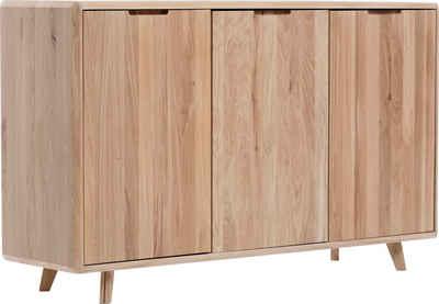 Home affaire Anrichte »Infinity«, mit schönen abgerundeten Kanten, aus massivem Eichenholz, Breite 150 cm