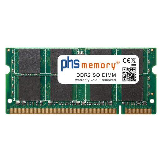PHS-memory »RAM für Toshiba Satellite A500-14D« Arbeitsspeicher