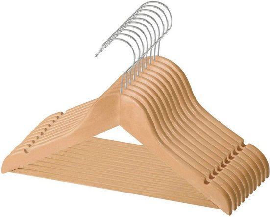 made2trade Kleiderbügel »Wood«, (20-tlg), Set aus Holz