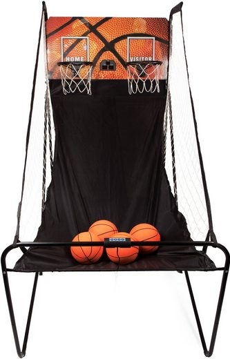 SportPlus Basketballkorb »SP-BS-100« (inkl. 4 kleiner Basketbälle & Mini-Luftpumpe, exkl. Batterien)