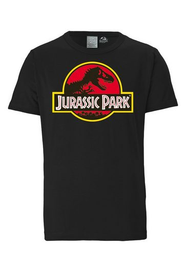 LOGOSHIRT T-Shirt im Retro-Look »Jurassic Park«
