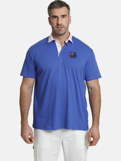 Charles Colby Poloshirt »EARL MAYWARD« reine Baumwolle, Comfort Fit