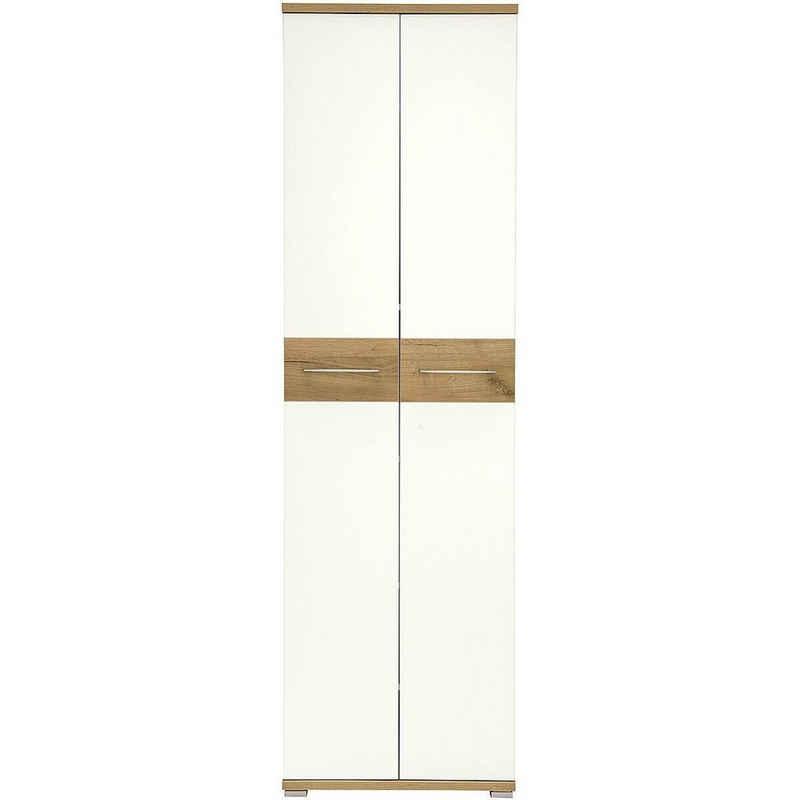 GERMANIA Garderobenschrank »Topix« 5 Fachböden (4 davon verstellbar), ausziehbare Kleiderstange