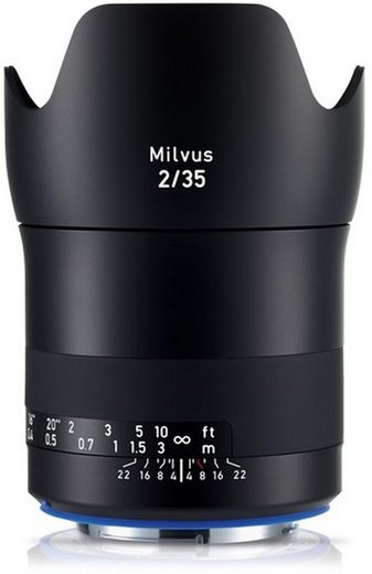 ZEISS »Milvus 35mm f2,0 Canon« Objektiv