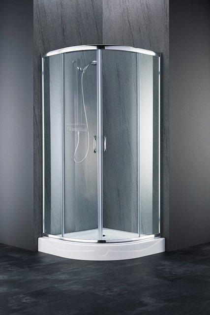 Duschen und Zubehör - WELLTIME Runddusche »Summer«, Viertelkreisdusche, BxT 90 x 90 cm  - Onlineshop OTTO