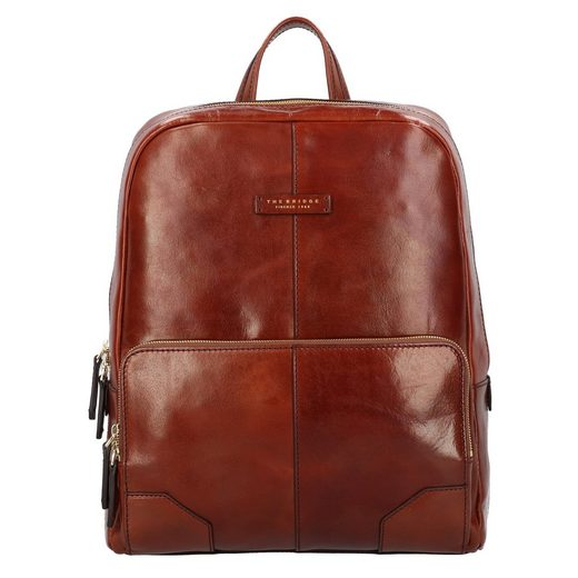 THE BRIDGE Laptoprucksack »VespucciVespucci«, Leder