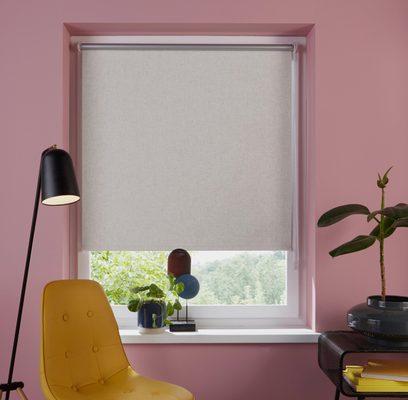 Seitenzugrollo »Rudy«, my home, verdunkelnd, ohne Bohren, freihängend, Leinenoptik