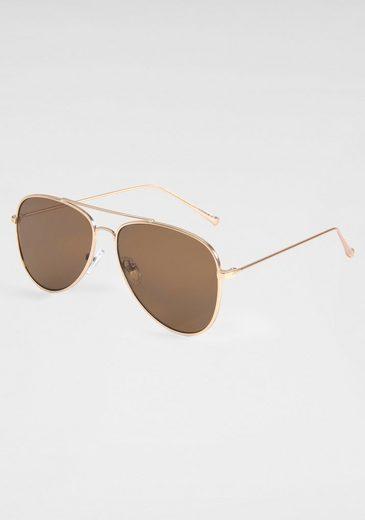PRIMETTA Eyewear Pilotenbrille mit dezentem Vollrand