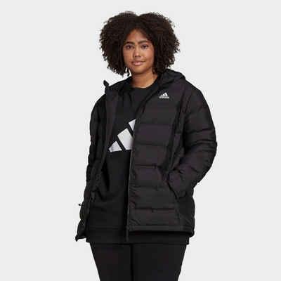 adidas Performance Funktionsjacke »Helionic Hooded Daunenjacke – Große Größen«