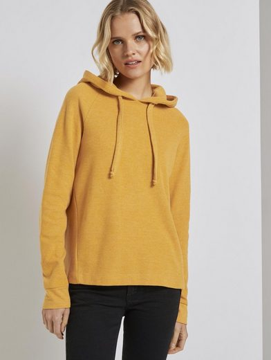 TOM TAILOR Denim Kapuzensweatshirt »Gemütlicher Hoodie«