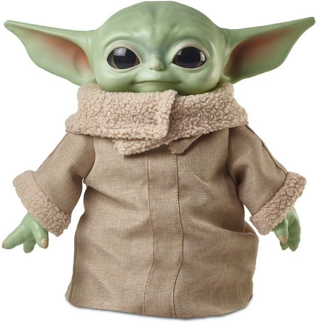 Image of Mattel GWD85 Roulette Star Wars Mandalorian The Child Baby Yoda Plüsch Figur (28 cm)