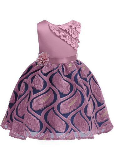 TOPMELON Abendkleid Bestickt