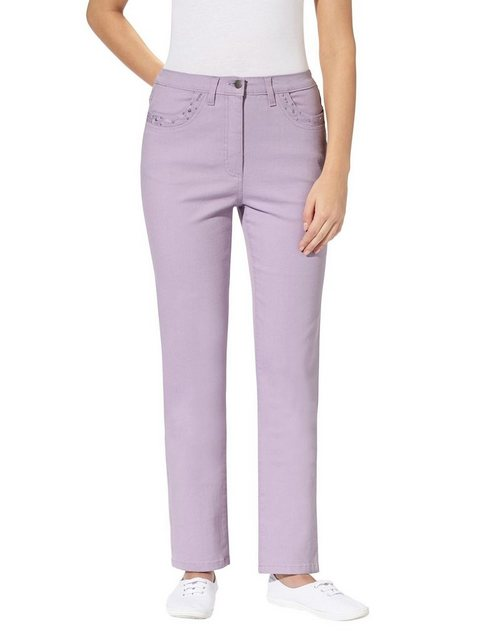 Hosen - Classic Basics Bequeme Jeans › lila  - Onlineshop OTTO