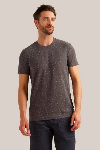 Finn Flare T-Shirt mit tollem Alloverprint
