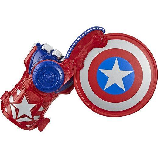 Hasbro Blaster »NERF Power Moves Marvel Avengers Captain America«