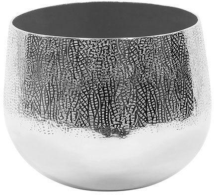 Fink Übertopf »BLUSH, silberfarben« (1 Stück), dekorativer Blumentopf, aus Metall, in verschiedenen Größen erhältlich