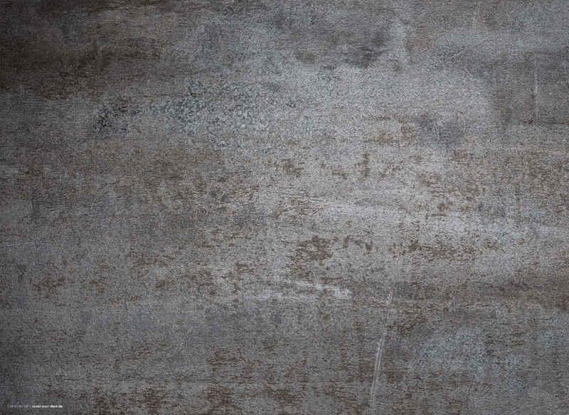 Platzset, »Tischset, Platzset abwaschbar - Stahlplatte Metalloptik - aus erstklassigem Vinyl (Kunststoff - BPA-frei) - 4 Stück - rutschfeste Tischunterlage in zeitlosem Design - Tischmatte - Made in Germany«, cover-your-desk.de, (4-St)