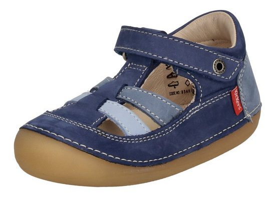 Kickers »SUSHY 611086-10-53« Plateausandale Blau (Bleu Tricolore 53)