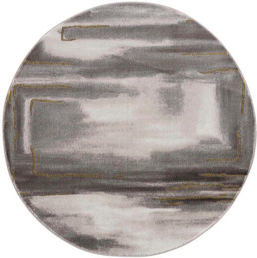 Teppich »Noa 9261«, Carpet City, rund, Höhe 11 mm, Wohnzimmer