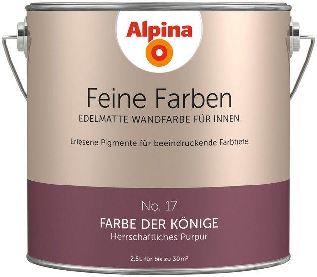Alpina Feine Farben Farbe der Könige, lila