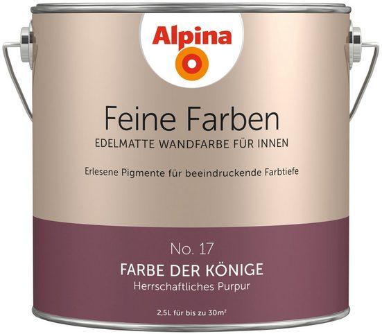 ALPINA Farbe »Alpina Feine Farben Farbe der Könige«, 2,5 l