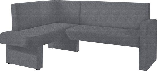 Eckbank »Umag«, Sitz und Rücken gepolstert, verschiedene Qualitäten