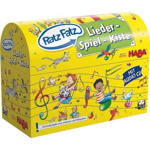 Haba Lernspielzeug »HABA 303035 Ratz Fatz Lieder-Spiel-Kiste«